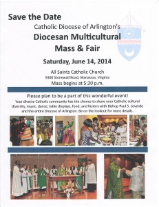 Save the Date - Multi Mass 2014