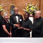 Winchester Knights Donate Chalice to African Diocese